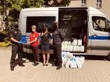 Pracownicy bydgoskiego aresztu pomagają w walce z koronawirusem. Środki higieniczne trafiły do Ośrodka Adopcyjnego Caritas