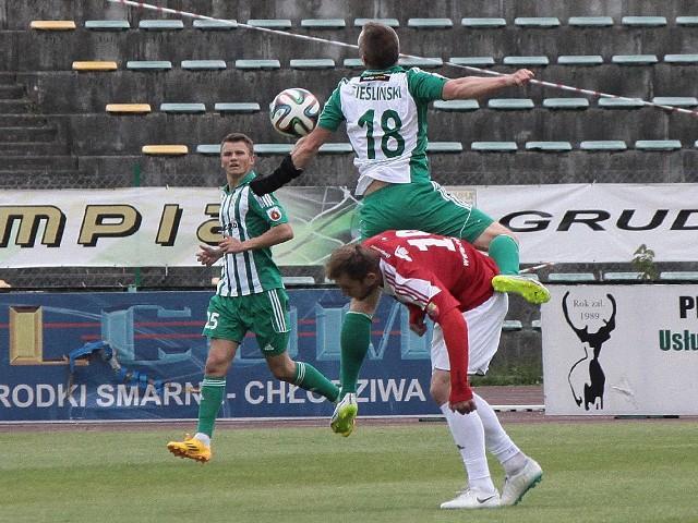 Olimpia Grudziądz - Dolcan Ząbki  2:0