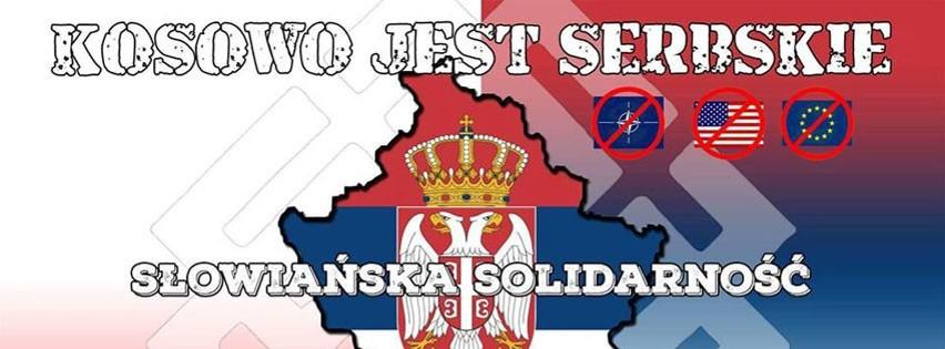 Marsz Kosowo jest serbskie zaplanowano na 20 lutego na godz....