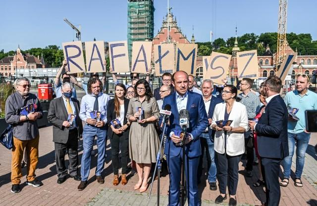 """""""Piątek dla Rafała"""" w Gdańsku. 26.06.2020 r."""