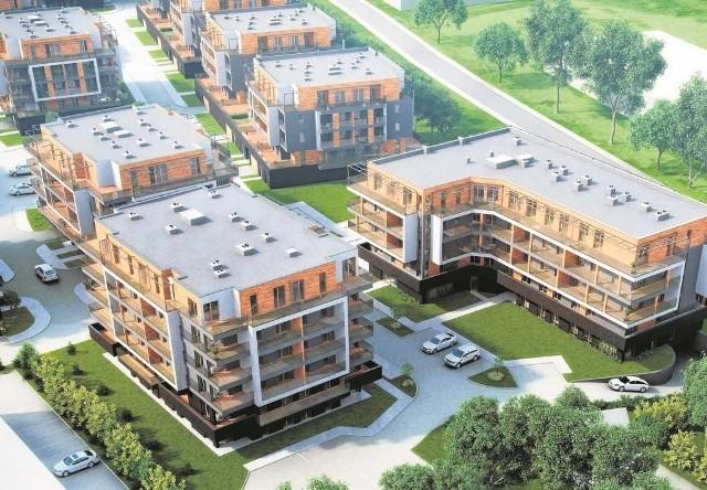 Zespół mieszkaniowy Bagry Park (inwestor - ATAL SA)