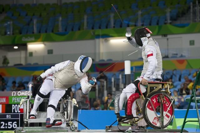 Dariusz Pender (z prawej) zdobył do tej pory dziewięć medali paraolimpijskich. Liczy na kolejne.