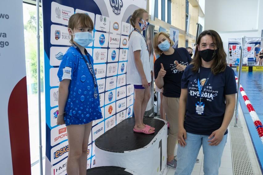 Blisko pół tysiąca młodych pływaków rywalizowało w Otylia Swim Cup w Toruniu