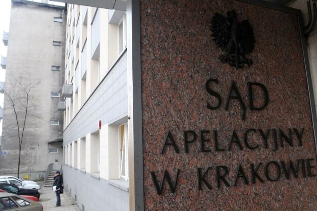 Jest pierwszy wyrok skazujący w aferze korupcyjnej w Sądzie Apelacyjnym w Krakowie