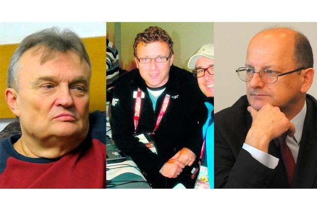 Na zdjęciu od lewej: Krzysztof Cugowski, Tomasz Jasina i Krzysztof Żuk