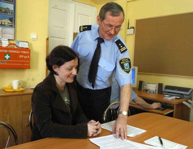 Katarzyna Szczurek na razie uczy się ustaw