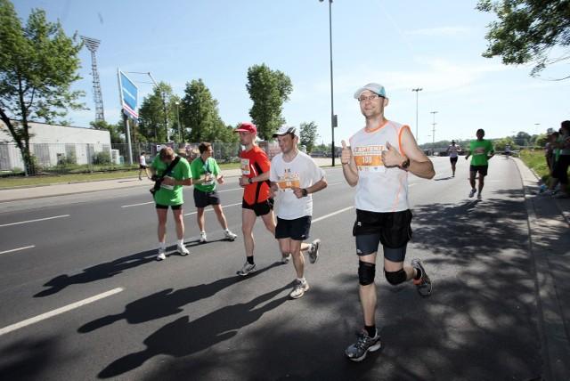 W tegorocznym maratonie wzięło udział ponad 600 osób