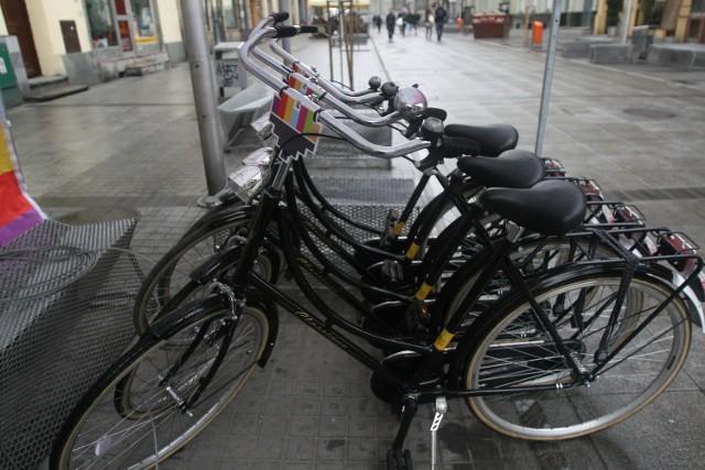 Rowery katowickiego biura ESK