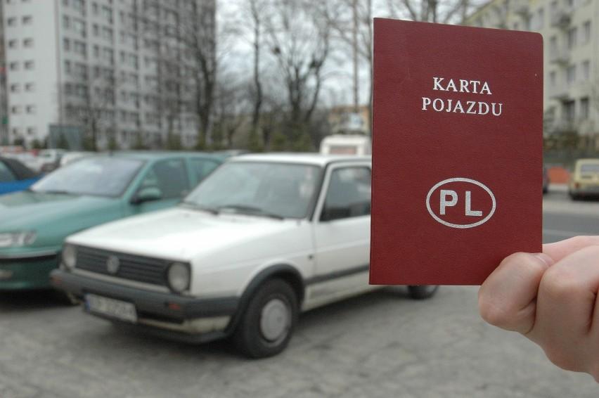 Kartę pojazdu musi mieć każdy samochód pierwszy raz...