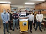 """Grupa uczniów jarosławskiego """"mechanika"""", rozwija swój projekt BeeApp. To rozwiązanie, które pomaga pszczelarzom"""