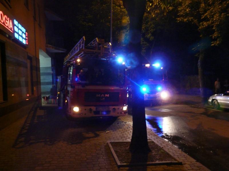 Strażacy szybko poradzili sobie z pożarem