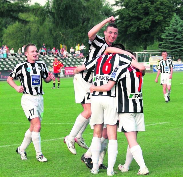 Piłkarze Sandecji zwycięstwem podsumowali bardzo udany sezon
