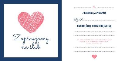 Zaproszenia ślubne - inspiracje, wzory ONLINE DO POBRANIA za darmo [jakość do druku]