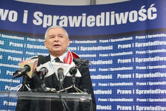 Jarosław Kaczyński znów ma kota!