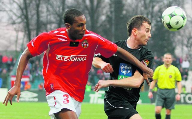 Marcelo (na zdjęciu), a także Arkadiusz Głowacki i Tomas Jirsak muszą dzisiaj szczególnie uważać, by nie dostać żółtej kartki