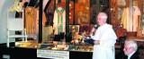 Ręcznik i filiżanka Jana Pawła II na Jasnej Górze