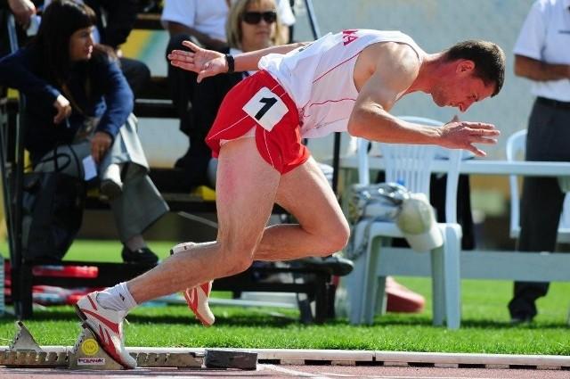 Mariusz Świszcz jest jednym z najbardziej utytułowanych lekkoatletów Spartana Lublin