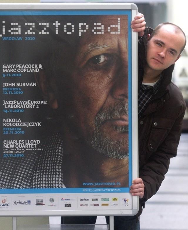 Piotr Turkiewicz - szef artystyczny wrocławskiego festiwalu Jazztopad