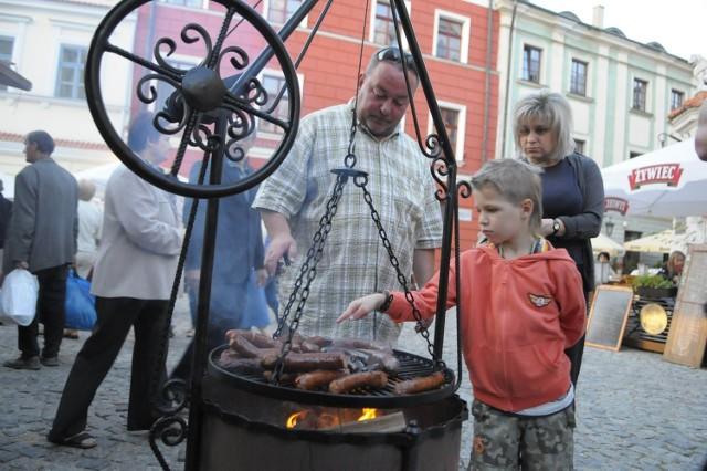Grille ustawiano już m.in. podczas imprez kulinarnych na Starym Mieście. Dlaczego nie miałyby stanąć na LSM?