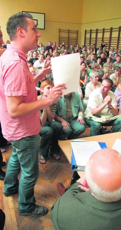 Na spotkaniu obecni byli urzędnicy miejscy i radni dzielnicy