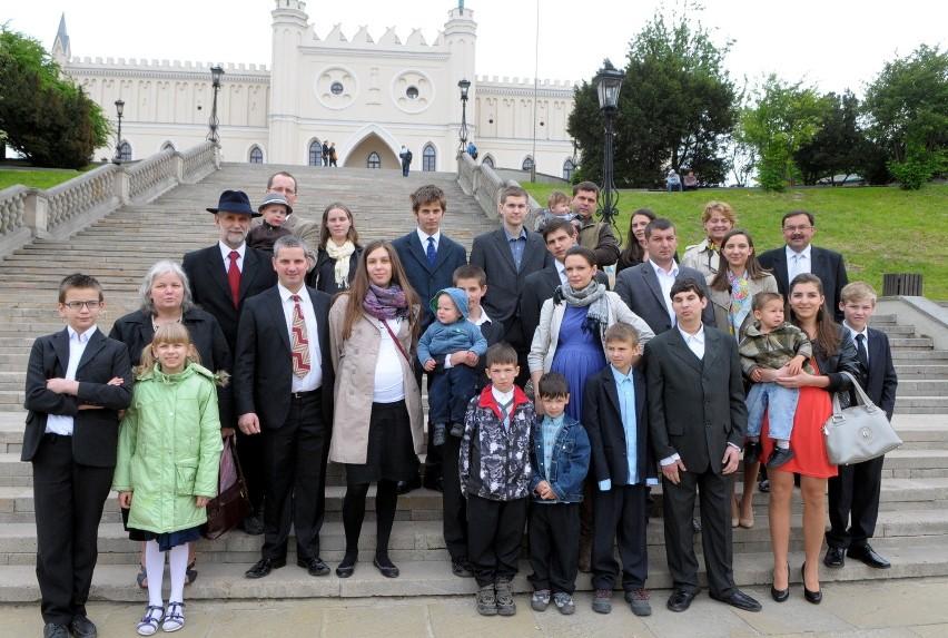 Prezydent Komorowski wyróżnił lubelskie rodziny