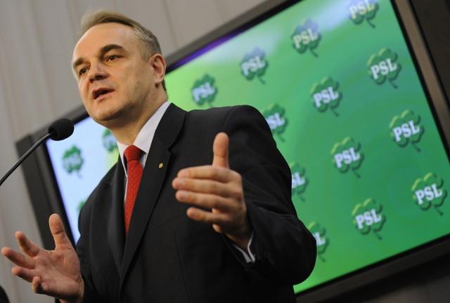 Waldemar Pawlak umacnia swoją pozycję w partii