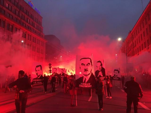 Marsz Niepodległości 2018. Relacja na żywo, trasa. Zdjęcia z marszu