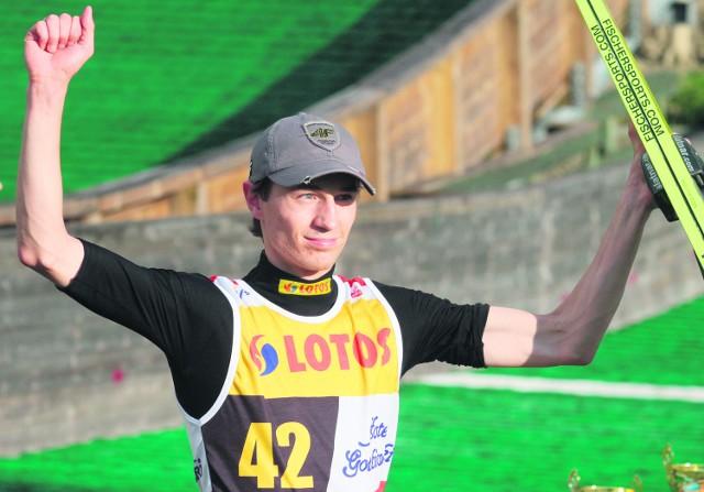 Kamil Stoch w Letniej Grand Prix potwierdza, że już na pewno przejął rolę lidera reprezentacji