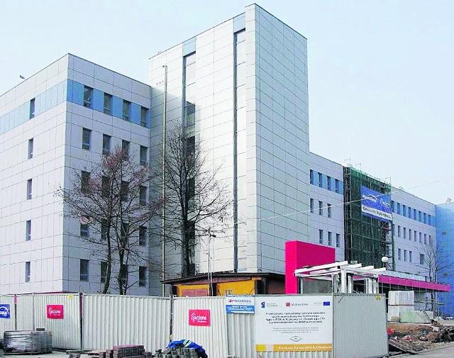 Nowa siedziba szpitala przy ul. Osieckiego 17