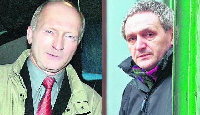 W. Turzański (z lewej) był w MPK, jest już w TBS, M. Popławski - z zieleni do cmentarzy