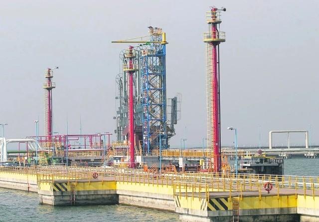 Nowa baza PERN w  Porcie Północnym będzie połączona ze stanowiskami w Naftoporcie