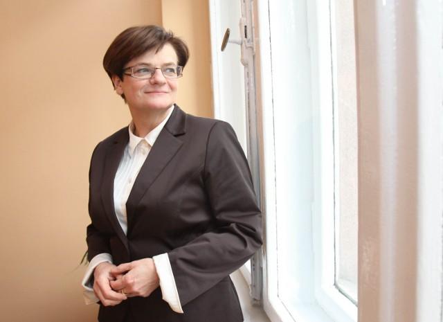 Minister edukacji Krystyna Szumilas akumulatory ładuje na Górnym Śląsku - w swojej małej ojczyźnie
