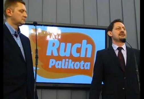 Andrzej Rozenek i Armand Ryfiński z Ruchu Palikota