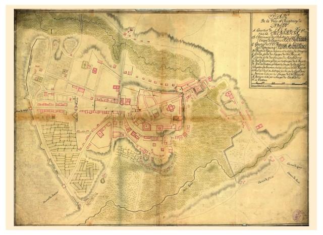 Plan Lublina z 1716 roku