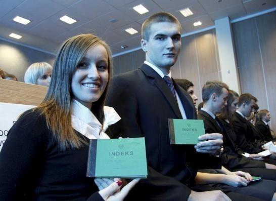 Justyna Struk i Michał Litkawiec w ubiegłym roku dostali upragnione indeksy.