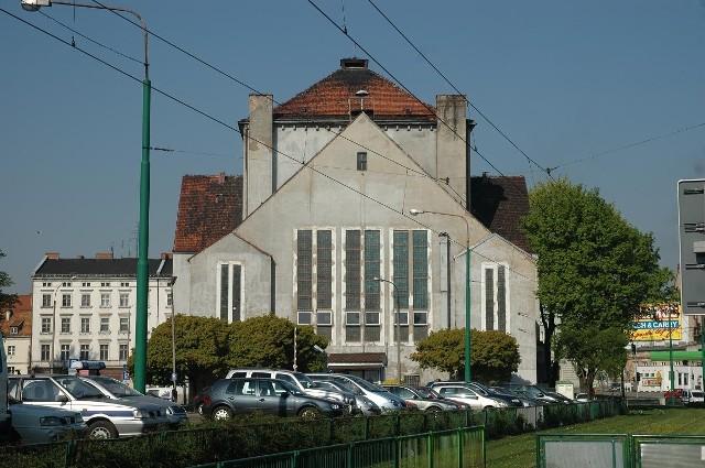 Synagoga w Poznaniu.