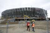 ZDJĘCIA z budowy PGE Arena Gdańsk