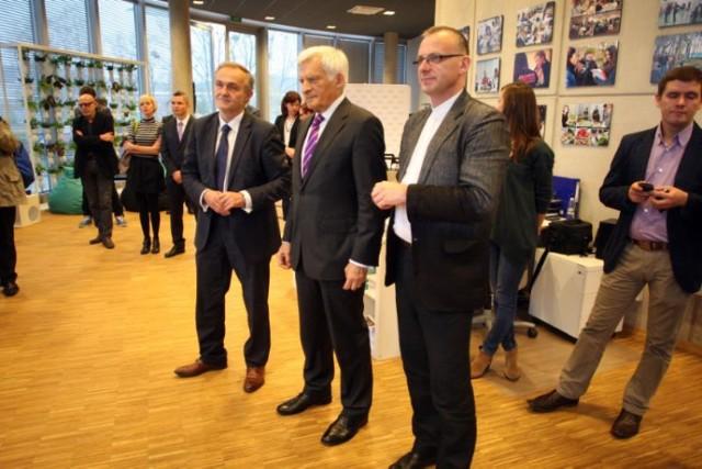Jerzy Buzek w PPNT w Gdyni