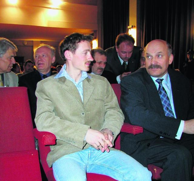 W kinie odbywały się m.in. spotkania z Adamem Małyszem