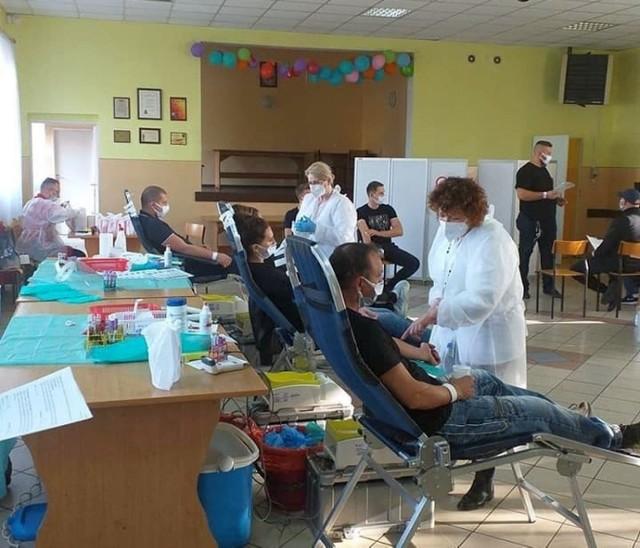 Akcja poboru krwi w Kijewie (gm. Gniewkowo) spotkała się z ogromnym zainteresowaniem mieszkańców