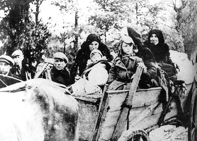 Hitlerowcy dawali ludziom 30 min na spakowanie dobytku