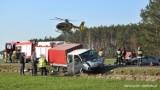Poważny wypadek w Gorzeniu na trasie między Bydgoszczą a Nakłem. 6 osób trafiło do szpitala