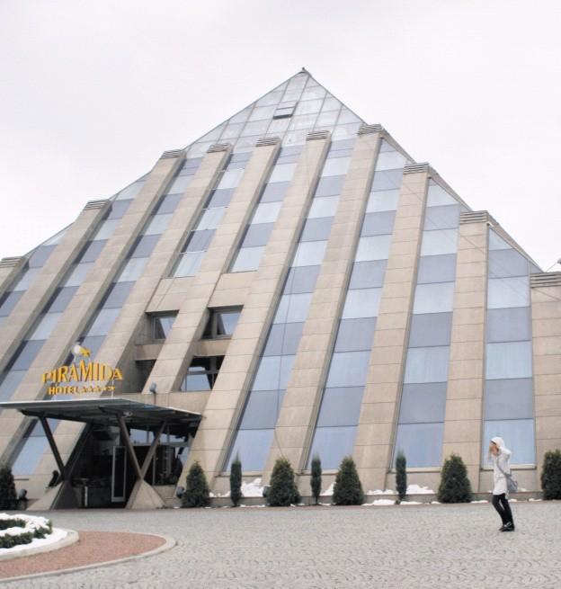 Hotel Piramida w Tychach
