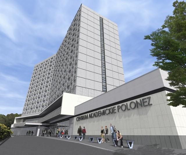 """Od 1 lipca można rezerwować pokoje w akademiku """"Polonez"""", który ..."""