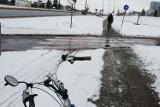 Czy Łódź odśnieża drogi rowerowe? Jak się jeździ zimą łódzkim rowerzystom? Ilu jest ich teraz w mieście? Sprawdziliśmy w środę 13.01.2021