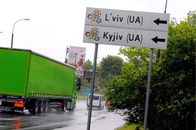 EURO 2012: Lubelska GDDKiA ustawiła drogowskazy