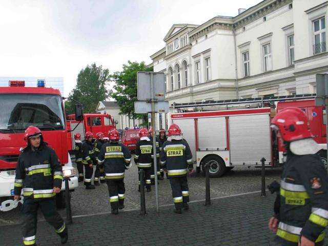 Strażacy opanowali wczoraj dworzec w Sosnowcu