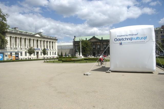 Budowa fontanny na placu Wolności w Poznaniu trwać będzie ponad rok