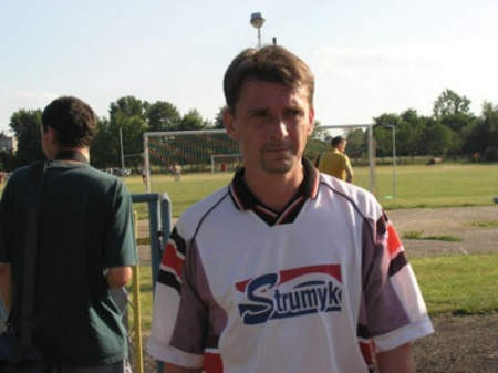 Krzysztof Zagórski ostatnio trenował Wisłę Strumień, teraz poprowadzi Victorię Hażlach.