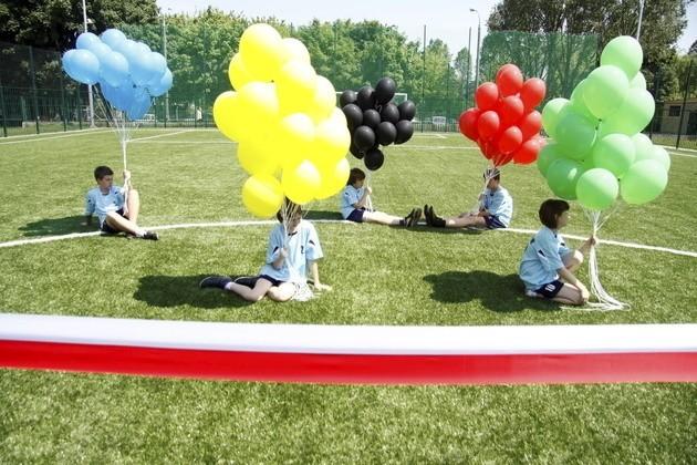 Jeden z lubelskich orlików, na którym dzieci rozegrają swoje Euro 2012